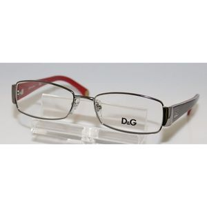 New Dolce & Gabbana Gunmetal eyeglasses